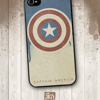 Iphone 4 / 4s hard or rubber case CAPTAIN AMERICA, The Avengers,