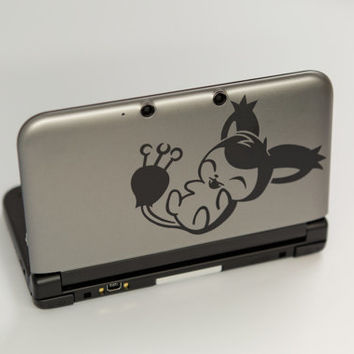 Skitty pokemon decal sticker for 3ds XL 3ds as by BetterStickers