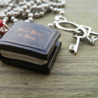 Once Upon A Time Necklace Henry's Book The by shellybelly4evr
