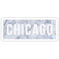 'Marble Chicago' Sticker by baileymincer