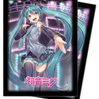 Ultra Pro Hatsune Miku Standard Size Deck Protector 50-Count - Thank You