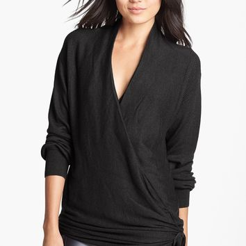 Leith Side Tie Wrap Sweater | Nordstrom