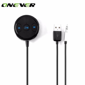 Onever Bluetooth Receiver 3.5mm Jack Bluetooth Audio Music Wireless Receiver Adapter Car Aux for Speaker Headphone Car Stereo