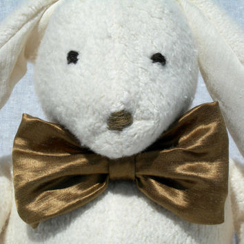 Organic, All Natural, Easter Bunny Rabbit, Baby Shower Gift, Baby Nursery, Stuffed Toy
