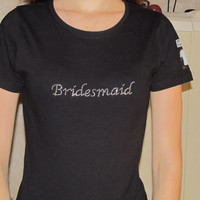 Bridesmaid Bling Shirt