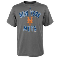 Majestic New York Mets On Deck Tee - Boys 8-20, Size:
