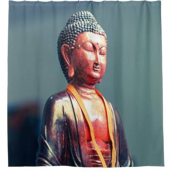 Buddha Asia Zen Shower Curtain