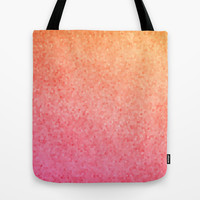 Sea Glass ~ Coral Tote Bag by Catherine Holcombe | Society6