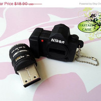 SALE A Mini Dslr Nikon Camera USB Flash Drive 8Gb ,  Cute Usb Flash Drive , Accessories