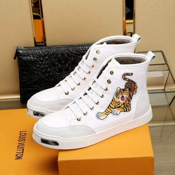 Louis Vuitton Fashion Casual Sneakers Sport Shoes-122