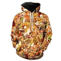 Taco Bell Collage Hoodie
