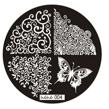 DCCKJY1 1PC Good Quality 2016 Butterfly Pattern Nail Art Image Stamp Stamping Plates Manicure Template Nail Art Tool