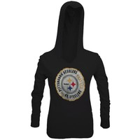 Pittsburgh Steelers - Primetime Juniors Hooded Long Sleeve