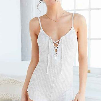 Out From Under Tied Up Cozy Romper