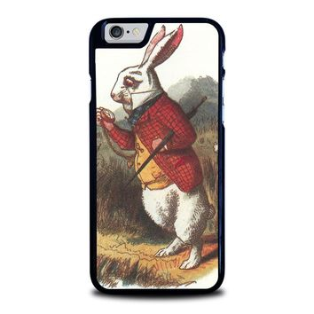 WHITE RABBIT ALICE IN WONDERLAND Disney iPhone 6 / 6S Case Cover