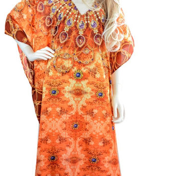 LONG kaftan dress, caftan dress, beach kaftan, boho kaftan dress, kaftan, moroccan kaftan