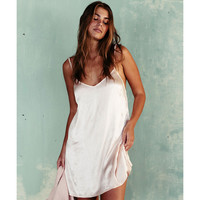 SUNSET SLIP DRESS