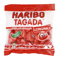 Haribo Tagada Strawberry Candy, 4.2 oz