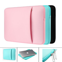 Fashion Zipper Laptop Liner Sleeve Bag 11/12/13/15 inch Sleeve for Macbook Air 13 Pro 11 12 15 Lenovo 14 inch Laptop Sleeve Case