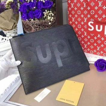 DCCK Louis Vuitton Supreme Wallet TOTES HANDBAG PURSE SHOU Day-First?