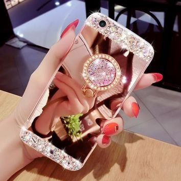 Samsung Galaxy Diamond Mirror Phone Case