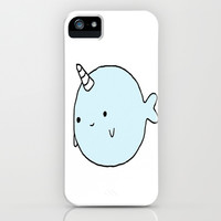 Narwhal iPhone & iPod Case by hayimfabulous