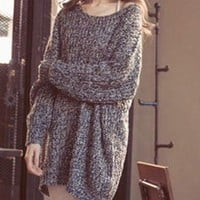 Knitted Sweater with Long Sleeve