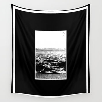 The Shore Wall Tapestry by Derek Delacroix