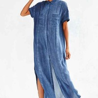 Silence + Noise Casper Maxi Shirt Dress