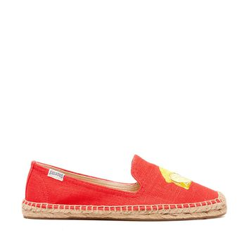 Soludos Smoking Slipper Embroidery Embroidered Espadrille
