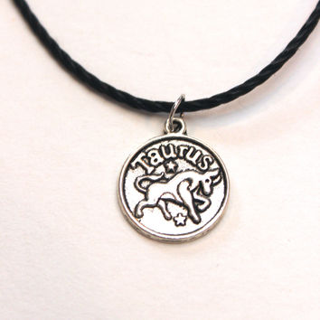 Zodiac Sign: Taurus Choker Necklace