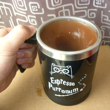 Harry Potter Cat Self Stirring Mug