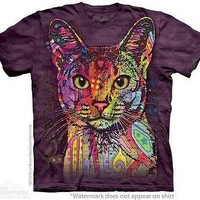 Big Face Abyssinian Cat T-Shirt