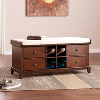 Hulen Shoe Storage Bench By Southern Enterprises