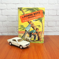 1964 Power Boys Adventure Hardcover Book:  The Mystery of the Flying Skeleton by Mel Lyle