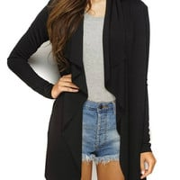 Maytal Open Cardigan - Black
