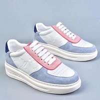Trendsetter Louis Vuitton LV  Women Men Fashion Casual Old Skool Shoes