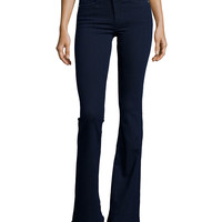 Beckett High-Rise Bell-Bottom Jeans,