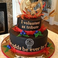 Awesome Hunger Games Cake