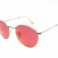 Ray-Ban RB 3447 Round Metal 167/2K Bronze Sunglasses