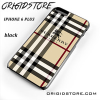Burberry Pattern London For Iphone 6 Plus Case UY