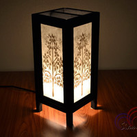 Table Lamp Gold Prasrimahabhodi Tree House Lighting and Holiday Decoration