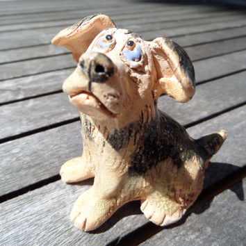 Collectible Dogs Figurine,Collectible Dog Figurine,Miniature Dog Figurine,Ceramic Dog Figurine,Doggy Dog Figurine,Ceramic Dog Sculpture