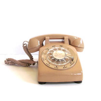 Retro Rotary Dial Desk Telephone