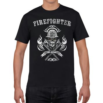 Fire Fighter First In Last Out - Fireman Tee