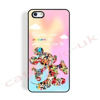 case,cover fits iPhone,samsung models>disney,Quote,If U Dream It U Can, mickey