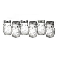 Silver Owl Jar - Set of Six