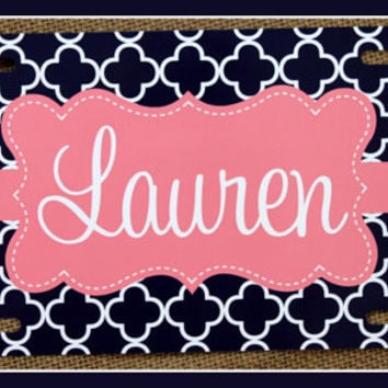License Plate Car Tag Personalized Monogrammed Car Tag Car Accessories Gift Sweet 16 License Plates New Car