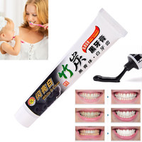Bamboo Charcoal Toothpaste Effective All-purpose Teeth Whitening Black Charcoal Toothpaste Oral Care Hygiene Toothpaste 100g