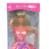 Mattel Valentine Barbie, Vintage Special Edition Barbie, New Old Stock NOS